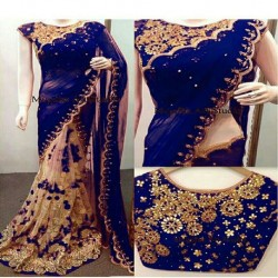 60GM GEORGET SAREE
