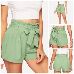 WESTERN WEAR SHORTS WITH KNOT