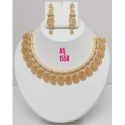 Golden Necklace Jewellery