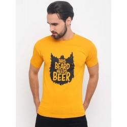T shirt with printed message