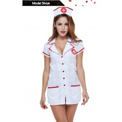 Sexy Nurse Costume Erotic Costumes Sexy Maid Lingerie Sexy Role Play Women Erotic Lingerie Sexy Underwear Games Cosplay Uniform