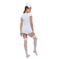 New sexy nurse erotic costumes sexy maid lingerie sexy role play women erotic lingerie sexy underwear games cosplay uniform