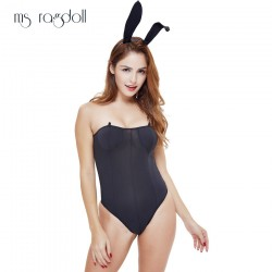 New Hot Sexy Bunny Leotard Bodysuit Cosplay Temptation Catwomen Cospaly Bunny Girl Dress Sexy Lingerie Costumes Uniform